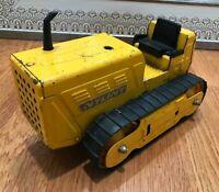 Vintage Nylint Bulldozer Dozer  Pressed Steel Yellow Toy Truck