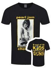 Pearl Jam T-shirt Choices Men's Black