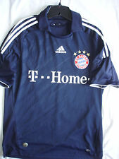 MENS RARE MEDIUM LARGE ADIDAS BAYERN MUNICH BLACK SOCCER CAMISETA JERSEY-EXCEL