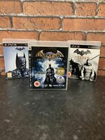 Batman Arkham Trilogy PS3 Games Bundle - Asylum + City + Origins