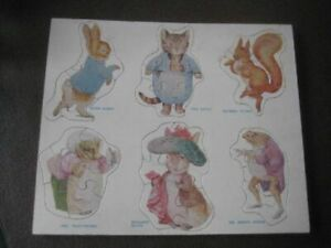 Vintage Peter Rabbit Children's Wooden Jigsaw  DMR230920
