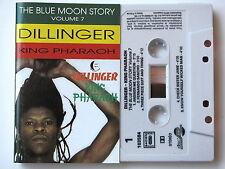 DILLINGER . KING PHARAOH . TAPE . CASSETTE AUDIO . K7