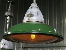 """Vtg 30s BENJAMIN VAPOR SEAL 18"""" industrial explosion proof light RESTORED"""