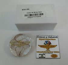 Indianapolis Motor Speedway Brickdust Crystal Pocket Stone
