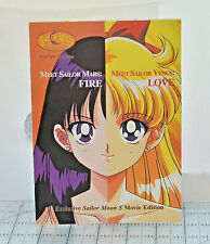 Sailor Moon S Scout Guide Book Preview Edition Mars Fire Venus Love