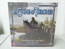 A Game Of Thrones A Storm Of Swoards Expansion Board Game New Factory Sealed