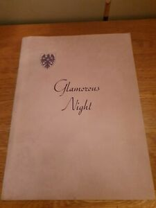1953 BARCLAYS BANK OPERATIC SOCIETYSCALA THEATRE GLAMOROUS NIGHT.