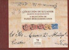 Ecuador u. Südamerika, Luxus-Auktionskatalog Afinsa, 1996, 350 Seiten