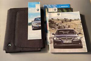 BMW 3 SERIES SALOON TOURING OWNERS MANUAL HANDBOOK FOLDER PACK E90 E91 2004-2011
