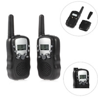 2x T-388 Multi Channels Wireless Walkie Talkie children Radios 446MHz Long Range
