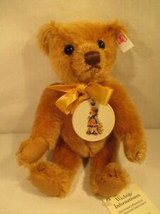 Steiff Hummel Goebel Reklame Mohair 100 Anni Teddy Bear Limitata