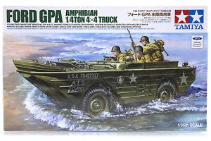 Tamiya 1/35 U.S. Ford GPA Amphibian Scaled Plastic Model Kit