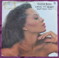 "Diana Ross Cryin' My Heart Out For You 7"" – TMG 1233 – VG"