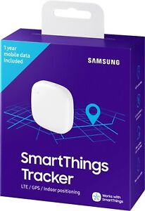 White Samsung SmartThings GPS Tracker