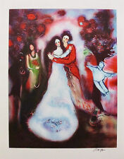 RAYA SORKINE  WEDDING MARRIAGE Hand Signed Limited Edition Lithograph French Art