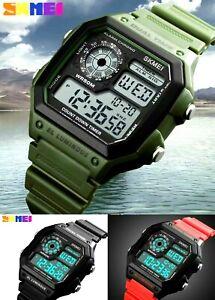 Digital Watch Classic Digital Retro Sports Alarm Stopwatch SKMEI BRAND UK Seller
