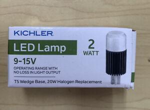 Kichler 18204 Black 12V Led T5 Wedge 2700K Bulb