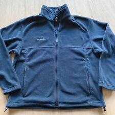 Columbia fleece Jacket Mens Size Large blue