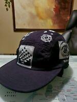 Supreme MC Escher Camp Cap Black Adjustable Hat Used
