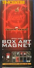 Ready! Hot Toys Iron Man Box Art Magnet Set of 10 New