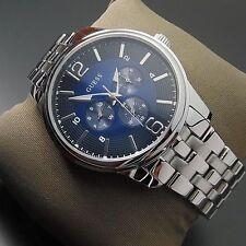 GUESS Armbanduhren mit poliertem Finish und 30 m Wasserbeständigkeit (3 ATM)