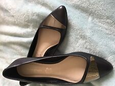 Marks and Spencer Women's Leather ballerina Shoes