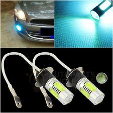 2 x H3  Aqua Blue  7.5W COB LED Bulbs Car Fog Driving Light Lamp