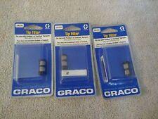New listing Graco Tip Filter 24e376 Lot Of 3 for proshot or truecoat sprayers