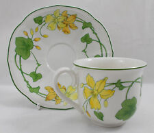Villeroy & and Boch GERANIUM MALVA coffee cup and saucer
