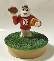 Georgia University - Ceramic College Mascot Candle Topper by Talegaters