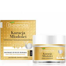 Bielenda Youth Treatment Anti Wrinkle Gold Line and Snail Face Cream Serum Mask