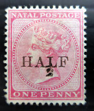 SOUTH AFRICA NATAL 1877 Provisional SG88 Unused No Gum NF561