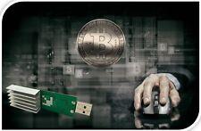 Chiavetta USB Bitcoin Miner 5,5 fino a 25 GH/s-33 GH/s al secondo max-rimanere ANONIMO