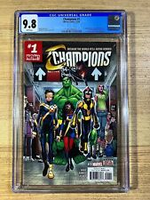 Champions #1 (2016 Marvel Comics) 1st Print CGC 9.8
