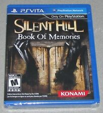 Silent Hill: Book of Memories for Playstation Vita Brand New! Factory Sealed!