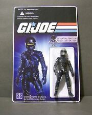 "Custom GI Joe figure and package of  "" THE WRAITH""   ""charlie sheen""  1986"