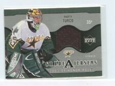 MARTY TURCO 2003-04 Upper Deck Honor Roll Grade A Jerseys Game-Used JErsey ga-mt