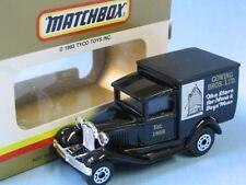 Matchbox MB-38 Ford Model A Van Gowing Bros. Australian Promo Toy Model Car
