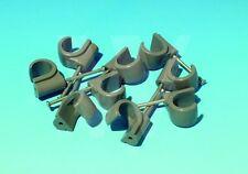 100 x Hepworth Hep2O 22mm nail in pipe clips. Hep20 Hep 20 2O on