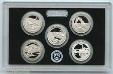 2014 America the Beautiful Quarter Silver Proof Set - ATB National Park - KR63