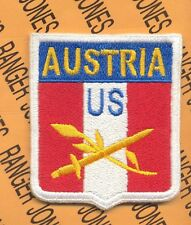 US Army Austrian Occupation Forces Type 1 ODD style patch
