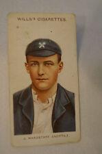 1908 Vintage Wills Cricket Card - J. Hardstaff - Notts.