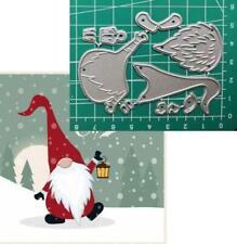 Santa Claus Cutting Dies Scrapbooking Scrapbooking Metal Christmas Dies Craft