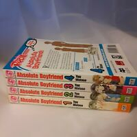 ABSOLUTE BOYFRIEND vol. 1-4 by Yuu Watase Mango English Comics Romance