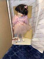 Original The Little Rascals DARLA 1993 Hamilton Collection Doll King World & Box