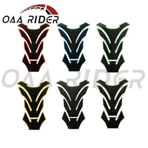 Universal Motorcycle 3D Oil Gas Fuel Tank Pad Sticker Guard Protector Decal Grip