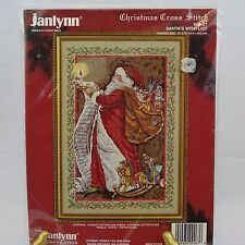 Cross Stitch Kit Santa's Wish List Janlynn 09-67 New in Package 1994 Christmas