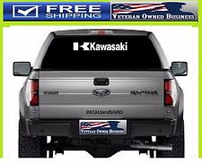 KAWASAKI K LARGE VINYL DIE CUT WINDOW DECAL STICKER Ninja Truck Car