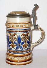 Ancien Villeroy & Boch Mettlach Chope À Bière Pichet V + B Pot de pierre 1155