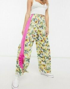 FREE PEOPLE INTIMATELY IN BLOOM LOUNGE PANT (SIZE XS) RRP £78 GARDEN COMBO